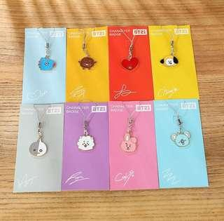 🔅[PO] BT21 Phone Charms