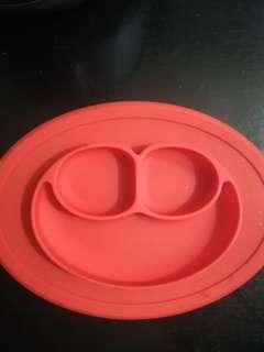 silicon baby plate with suction
