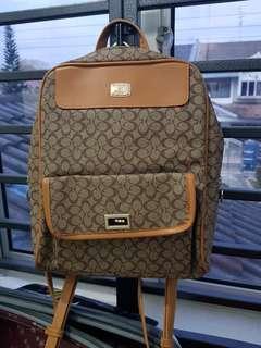 Branded women's backpack