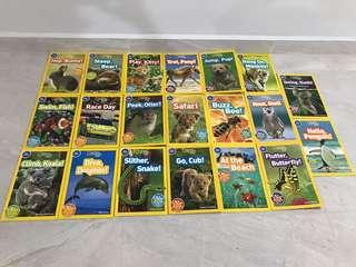 🚚 National Geographic Kids (Pre Reader) - 20books