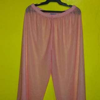 New Beach sheer pants
