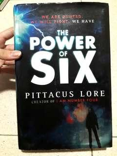 The power of six Pittacus Lore hardcover
