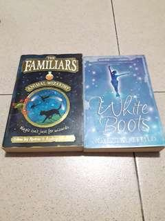 English books for kids The Familiars & White boots