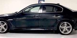 Rental Cheap BMW 525 Black Auto