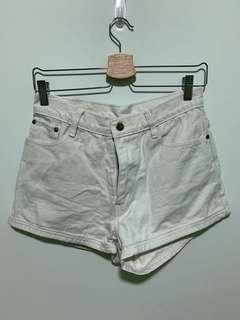 🚚 White Denim Shorts