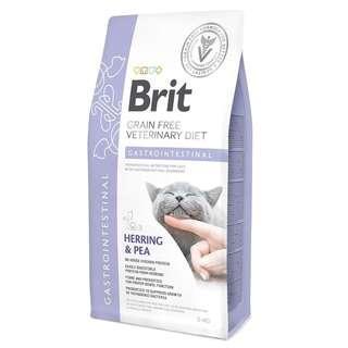 Brit Veterinary Diet Cat Grain Free Gastrointestinal - Herring & Pea 5kg