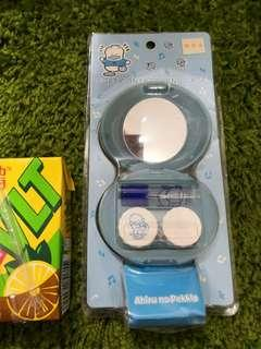 Pekkle Ap鴨日本絕版2002年隱形眼鏡套裝