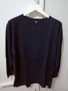 Uniqlo Oversized Long Sleeve Tunic