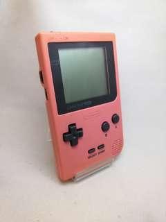 Gameboy Pocket Game Boy Pink