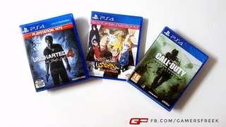 PS4 GAMES MAVELES PUTRAJAYA