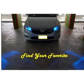 Toyota Wish on T10 super bright CREE project lens for pole light/small position light - CASH&CARRY ONLY NO INSTALLATION