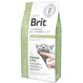 Brit Veterinary Diet Cat Grain Free Diabetes - Chicken & Pea 5kg