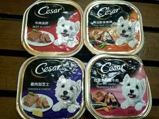 Free shipping! Cesar Wet Dog Foods