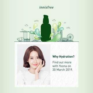 LF : YoonA Fanmeet Innisfree Ticket
