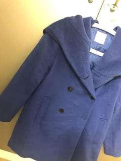 Lowrys farm coat 大褸 中褸 long coat Japan blue