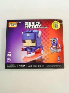 Loz Captain America Mini Block