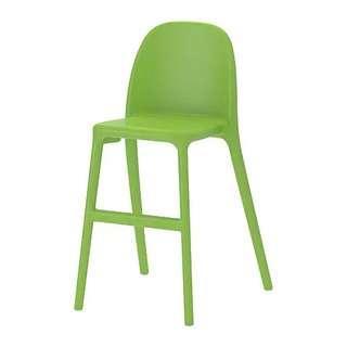 兒童椅子 ikea urban junior chair green