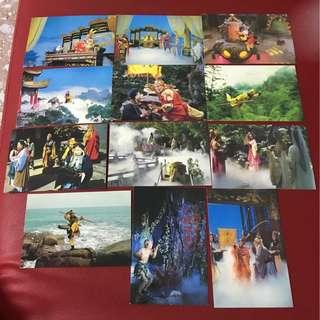 China postcard as in pictures-12 pieces