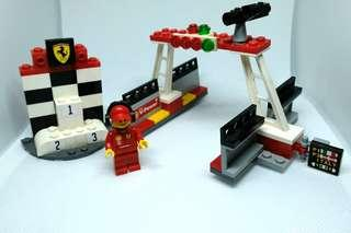 Lego Shell Ferrari Podium Winner Set