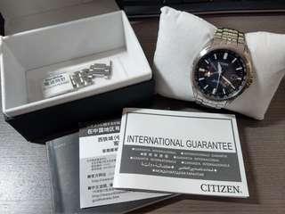 Citizen 電波錶 CB0011-69L 金城武代言系列