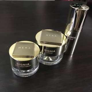 HERA Signia (Cream, Serum and Eye Cream Set)