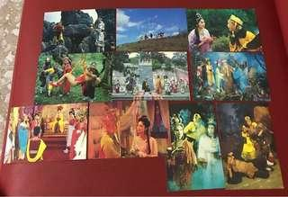 China postcard as in pictures - 10 pieces