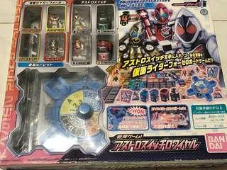 仮面 超人 Kanbe Rider Bandai 2011 出品 遊戲 figure 連變身 switch 變換器