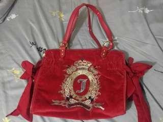 Red Juicy Couture Handbag Original