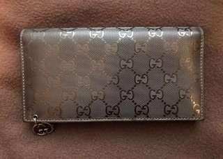 Gucci wallet  Guccissima long wallet with coin compartment 長銀包