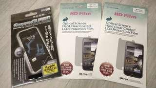 Screen Protector for Apple iphone & Samsung phones