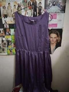 ex-zee purple dress