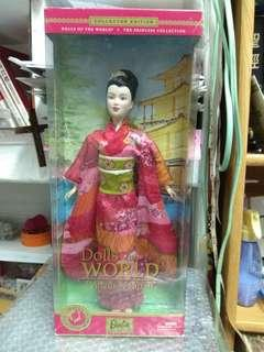Princess of Japan™ Barbie® Doll/芭比娃娃/2003/和服版/絕版