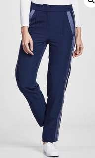 OLLOUM Track Pants in Navy Blue