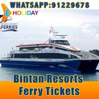 Bintan Resorts Ferry Ticket ღ E-holiday ღ