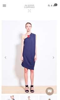 🚚 IGC WHITNEY Double Georgette Dress