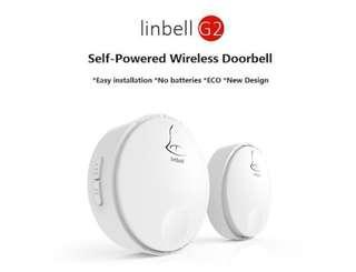 BNIB Linbell G2 Self-Powered Wireless Doorbell