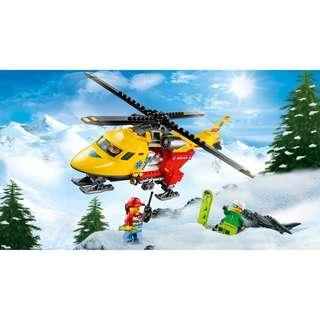 15% off! Lego City Helicopter Rescue