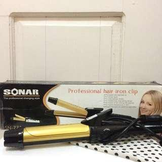 Catokan Sonar 2in1 Professional Hair Iron Clip