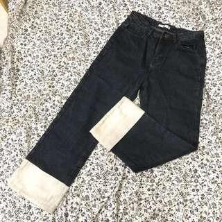 denim jeans 牛仔闊褲