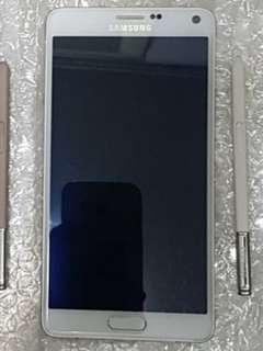 Samsung Note 4 with S-Pen / 3GB RAM 32GB / White