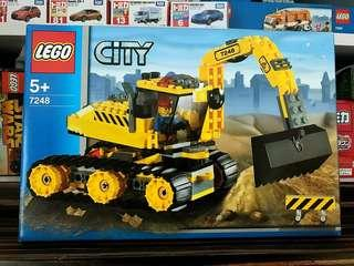 Lego 樂高 City Digger 7248 全新 100% 未開封 MISB