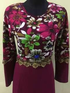 [PRELOVED] Dress Muslimah