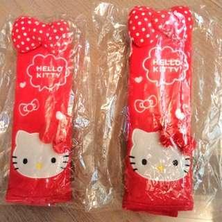 全新Hello Kitty 安全帶 套