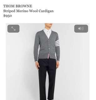 ThomBrowne 針織外套全新