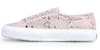 SUPERGA MACRAME pink ( lace )
