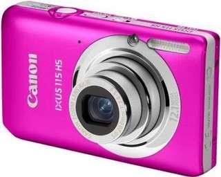 Canon IXUS 115HS Digital Camera