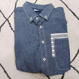 🚚 Fabrick Soft Denim Shirt