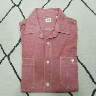 🚚 Uniqlo Shirt Pink