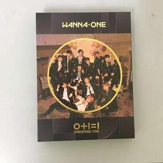 (WTS FAST) WANNA ONE - I PROMISE YOU (0+1=1) NIGHT VER