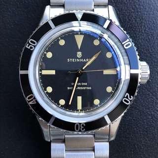 🚚 Steinhart legacy ocean one vintage watch gnomon